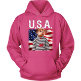 Donny Dachshund Hoodie - The Green Gypsie
