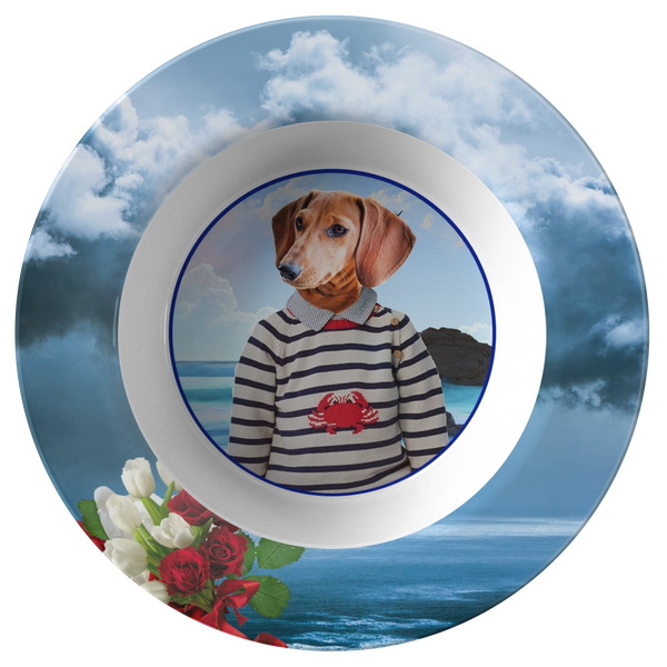 Donny Dachshund Bowl - The Green Gypsie