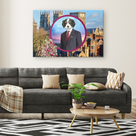 Charles Cavalier King Charles Rectangle Canvas - The Green Gypsie