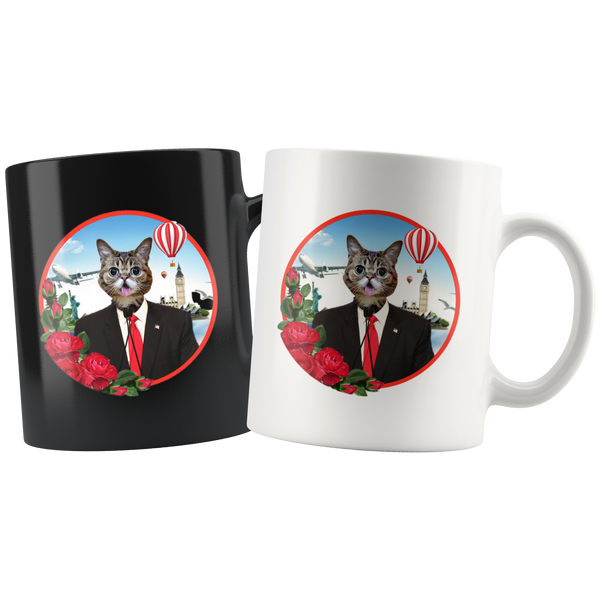 Cheerio Cat Mugs