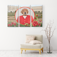 GiGi Golden Retriever 3 Canvas Set