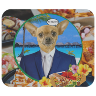Chico Taco Chihuahua Mouse Pad