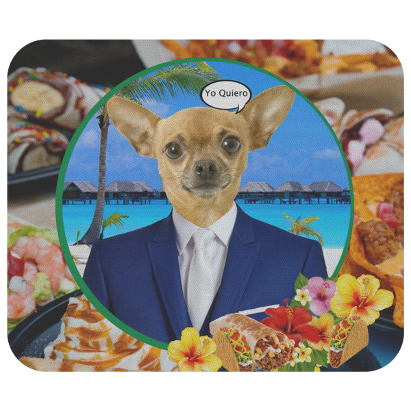 Chico Taco Mouse Pad