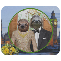 Rory & Logan Sloth Mouse Pad - The Green Gypsie