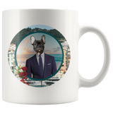 Rudy French Bulldog Mug - The Green Gypsie