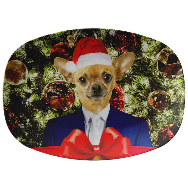 Chico Beach Chihuahua Holiday Platter