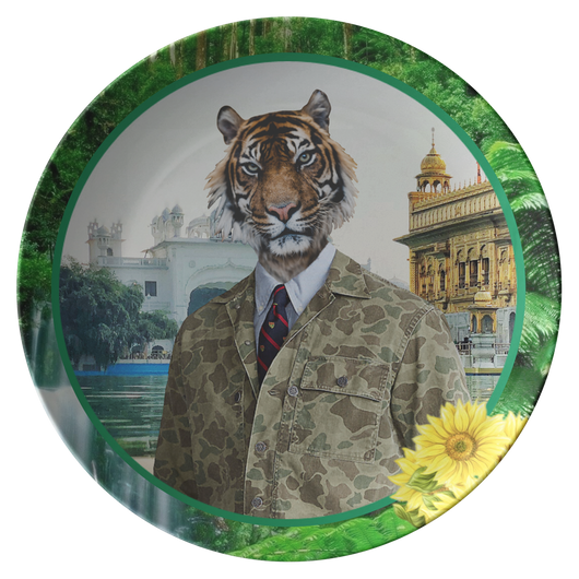Chase Lion Plate - The Green Gypsie
