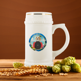 Bella Beagle Beer Stein - The Green Gypsie