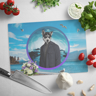 Niko Siberian Huskie Cutting Board - The Green Gypsie