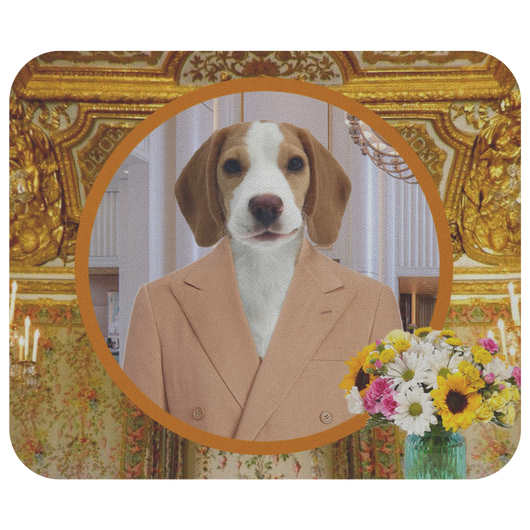 William Beagle Mouse Pad - The Green Gypsie