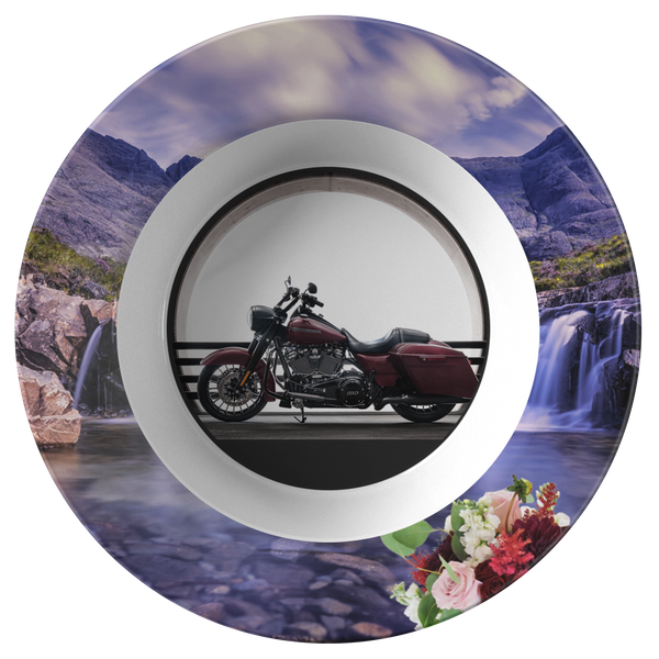 Harley Motorcycle Bowl - The Green Gypsie