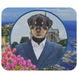 Randy Rottweiler Mouse Pad - The Green Gypsie