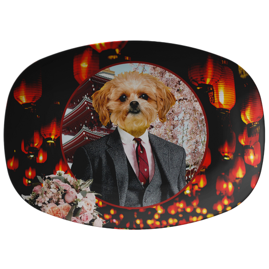 Ollie Shih Tzu Platter - The Green Gypsie