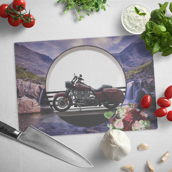 Harley Motorcycle Cutting Board - The Green Gypsie
