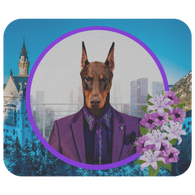 Prince Doberman Mouse Pad - The Green Gypsie