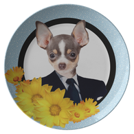 Coco Chihuahua Business Plate
