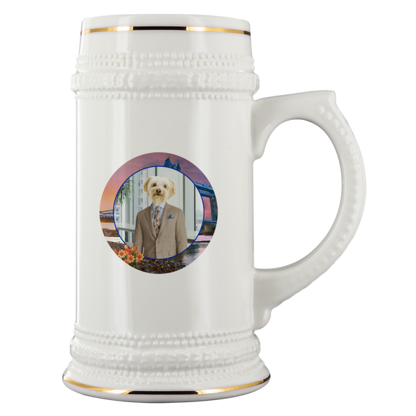 Benji Yorkshire Terrier Beer Stein - The Green Gypsie
