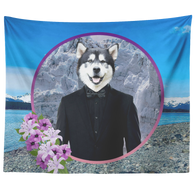 Apollo Alaskan Malamute Tapestry - The Green Gypsie