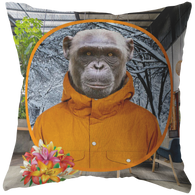 Chip Monkey Pillow - The Green Gypsie