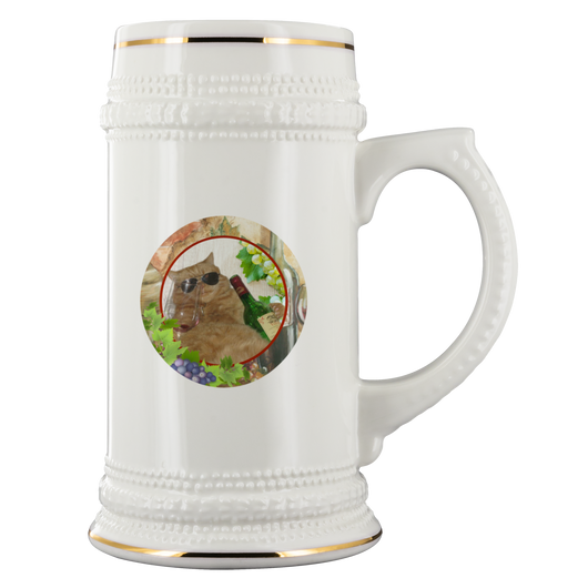 Kitty Cat Beer Stein - The Green Gypsie