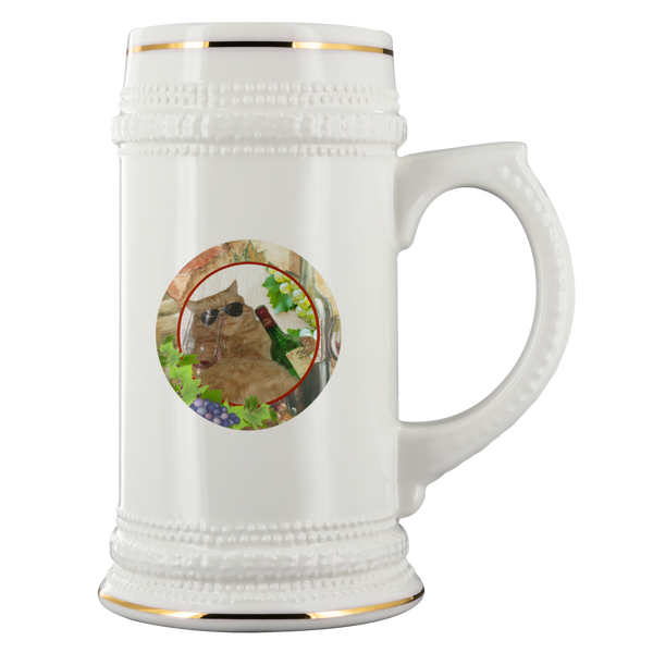 Kitty Cat Beer Stein