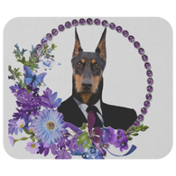Duke Doberman Mouse Pad - The Green Gypsie