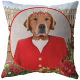 GiGi Golden Retriever Pillow - The Green Gypsie