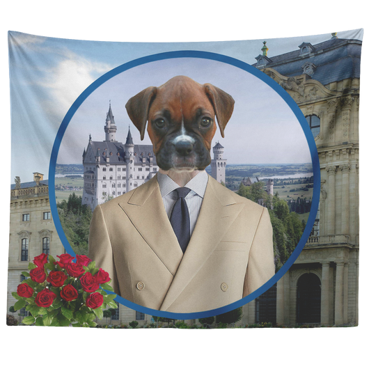 Bruno Boxer Tapestry - The Green Gypsie