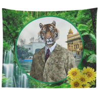 Chase Lion Tapestry