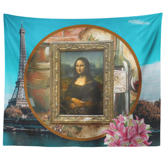Mona Lisa Tapestry - The Green Gypsie