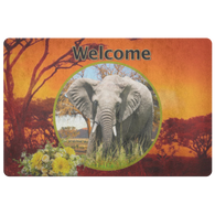 Emma Elephant Doormat - The Green Gypsie