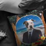 Peter Pit Bull Terrier Pillow - The Green Gypsie