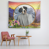 Bernie Bernese Mountain Dog Tapestry