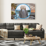 Hunter Havanese Rectangle Canvas - The Green Gypsie