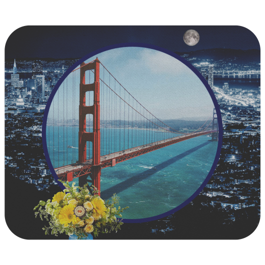 San Francisco Mouse Pad - The Green Gypsie
