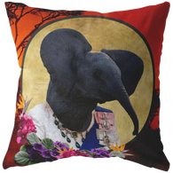 Ellie Elephant Pillow - The Green Gypsie