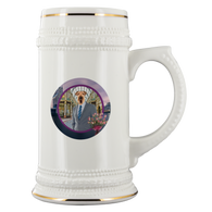 Bingley Airedale Terrier Beer Stein - The Green Gypsie