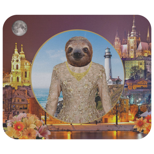 Rory Sloth Mouse Pad - The Green Gypsie