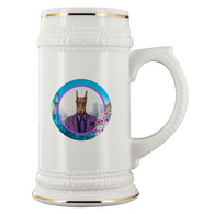 Prince Doberman Pincher Beer Stein - The Green Gypsie