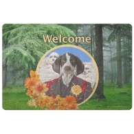 Piper Pointer Doormat - The Green Gypsie
