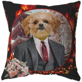 Ollie Shih Tzu Pillow - The Green Gypsie