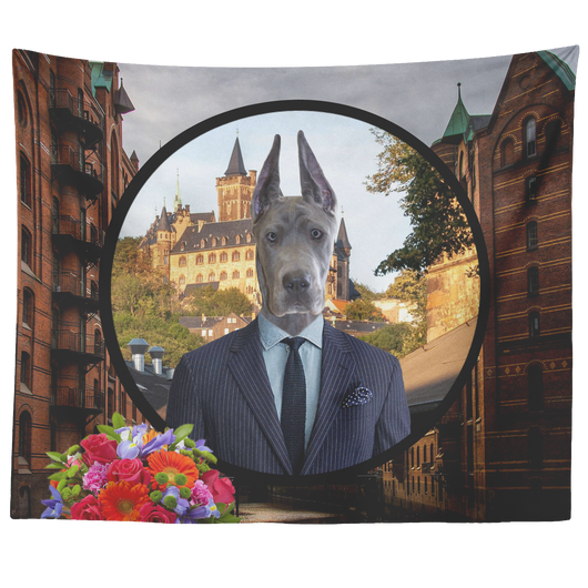 Frederick Great Dane Tapestry