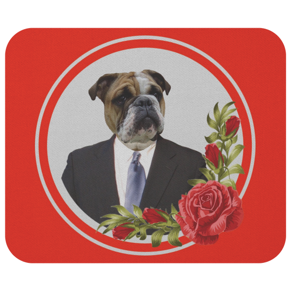 Bruce Bulldog Mousepad - The Green Gypsie
