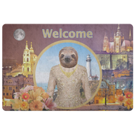 Rory Sloth Doormat - The Green Gypsie
