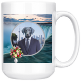 Frankie Black Labrador Mug - The Green Gypsie