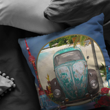Slug Bug Green VW Pillow - The Green Gypsie