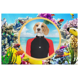 Bella Beagle Rectangle Canvas - The Green Gypsie