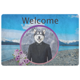 Apollo Alaskan Malamute Doormat - The Green Gypsie