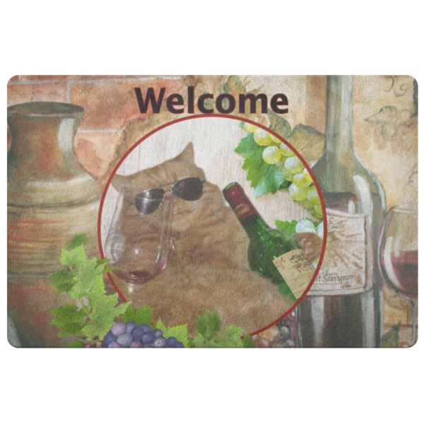 Kitty Cat Doormat - The Green Gypsie