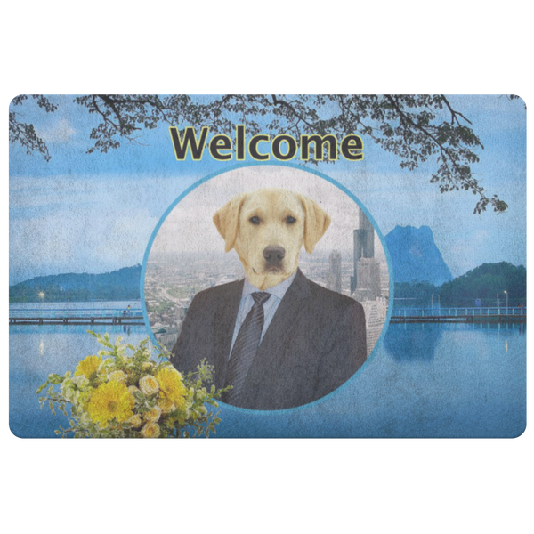 Louie Labrador Retriever Doormat - The Green Gypsie